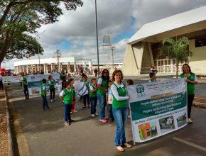 O desfile foi realizado em Araraquara e reuniu várias instituições da cidade. Foto: colaborador local