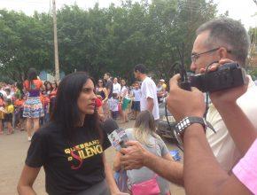 A TV Globo, o SBT, a Record, a Rede TV locais fizeram a cobertura do evento