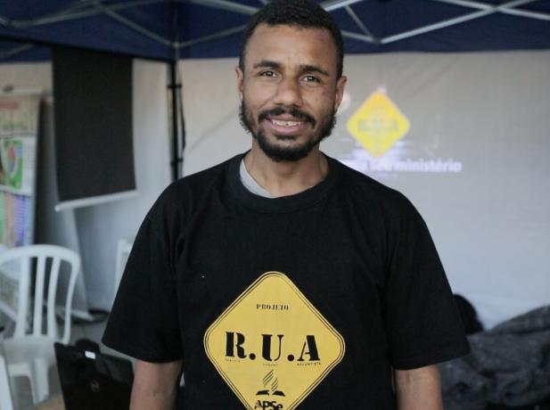 Willian Souza, 32 anos, coordenador do Projeto RUA.