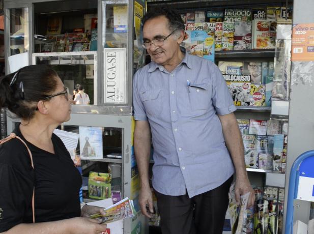 Itaim Paulista distribui 1 mil revistas, 2 mil panfletos educativos e 1 mil 500 revistas com dicas para as crianças sobre como prevenir violência infantojuvenil.
