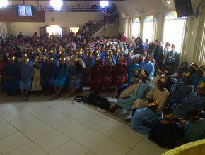 Para os adventistas da cidade a festa batismal foi histórica