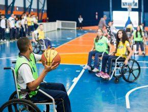 Iniciativa geralmente acontecia em outubro, mas este ano foi antecipada por conta dos Jogos Paralímpicos (foto: Eduardo Fonseca)