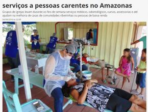 Voluntários dedicam suas vidas oferecendo serviços a pessoas carentes no Amazonas