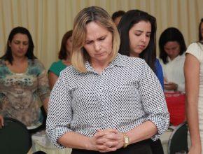 Em diversos momentos o grupo tirava tempo pra a oração