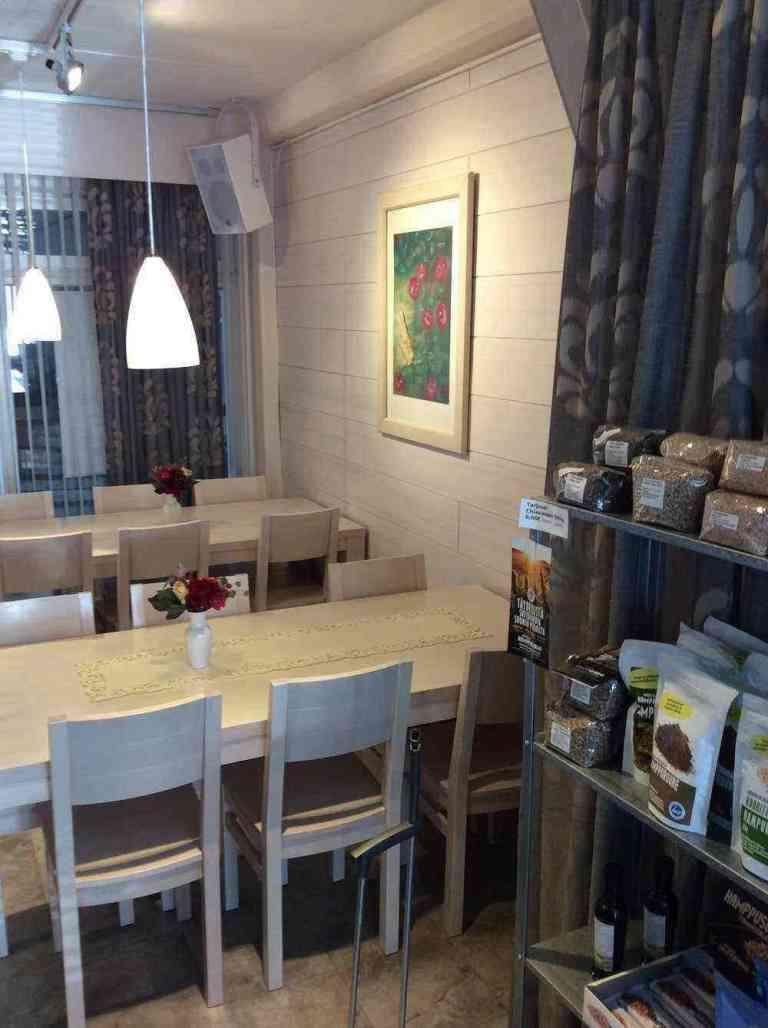 Interior do restaurante Karpalo (Arando)