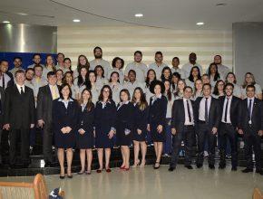 Equipe da administração, professor e funcionário do Colégio Adventista de Piracicaba