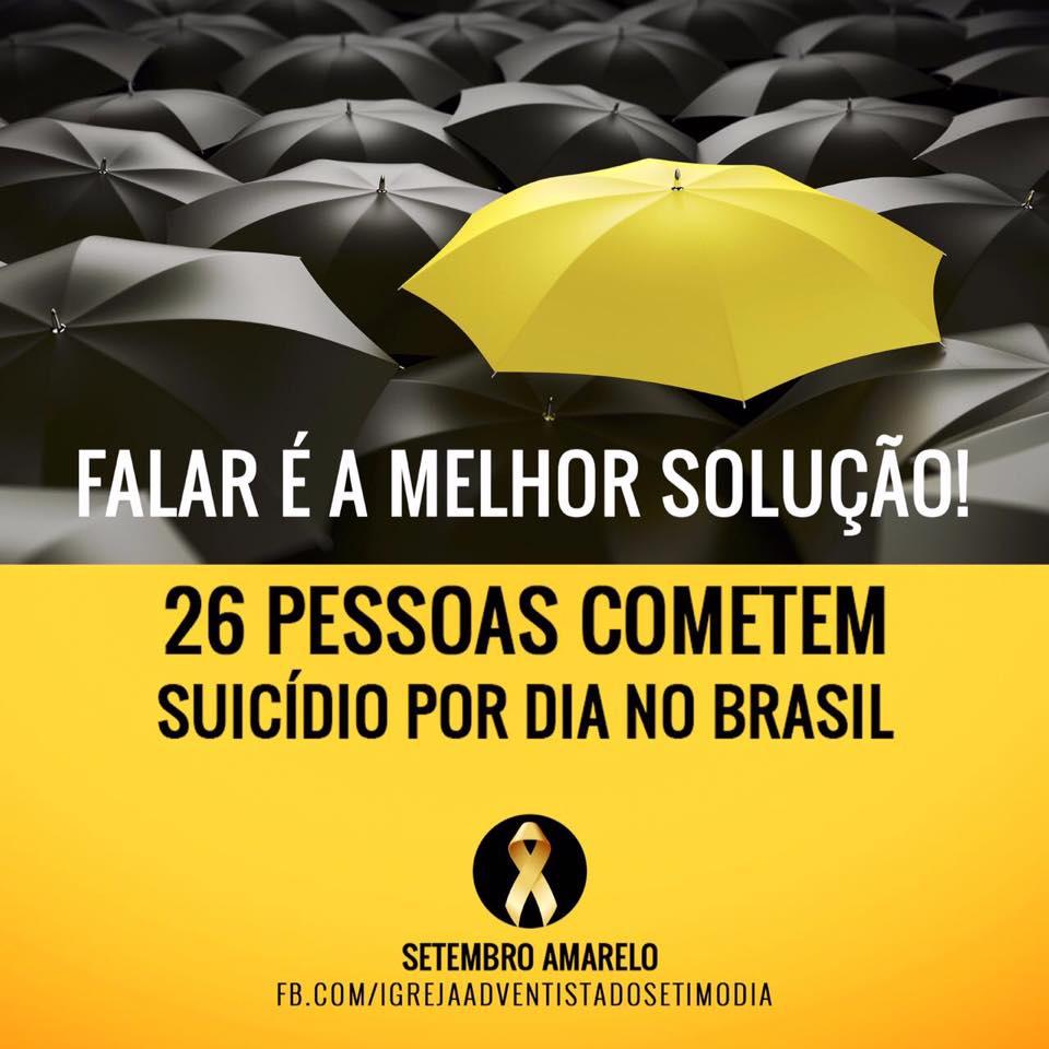 Banner digital usado na campanha das mídias sociais pela Igreja Adventista do Sétimo Dia sobre o tema.