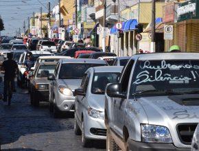 Na cidade de Itararé a carreata contou com 200 carros