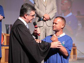Batismo realizado durante o XXVII Encontro da Federação dos Empreendedores Adventistas do Brasil.