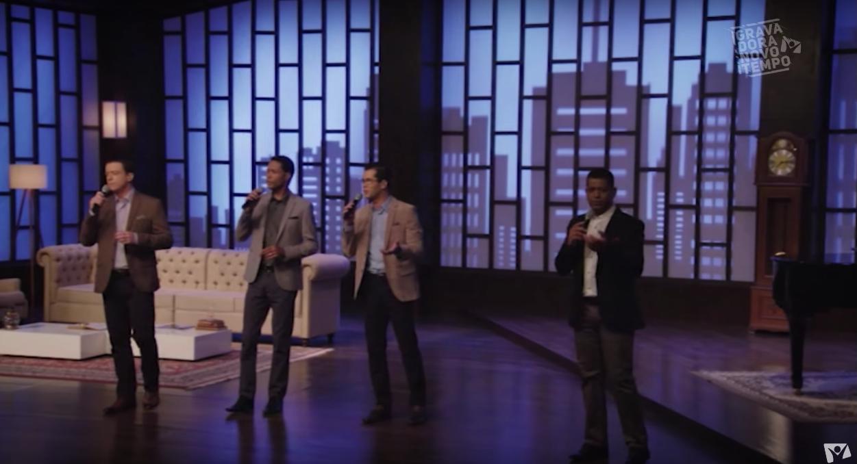 Imagem do clipe do lançamento do quarteto da Igreja Adventista do Sétimo Dia.