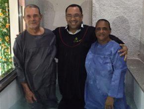 Sebastião e Eliane entregaram suas vidas a Jesus em cerimônia