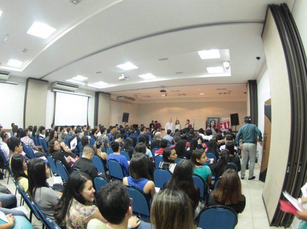 Congresso de universitários reuniu mais de 200 participantes.