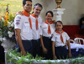 familia-e-batizada-apos-contato-com-clube-de-aventureiros
