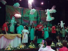 34 pessoas foram batizadas durante Congresso em Campo Belo
