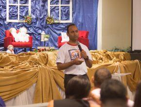 Pastor Fernando Rios, presidente da igreja adventista no Mato Grosso do Sul, ressaltou, durante o congresso, pontos para o sucesso familiar.