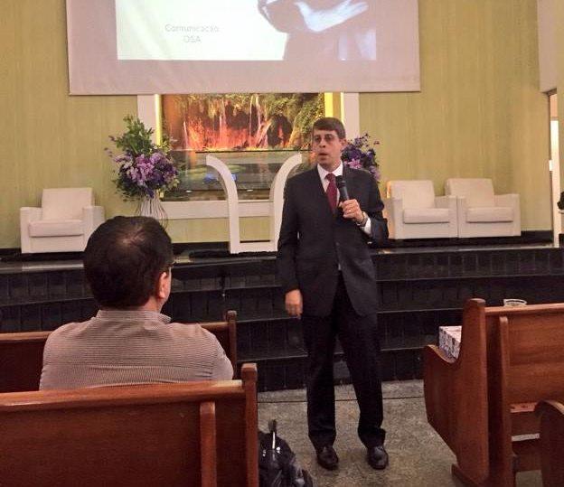 Pastor Rafael Rossi falou sobre a TV Novo Tempo e sua relevância para a Igreja Adventista.