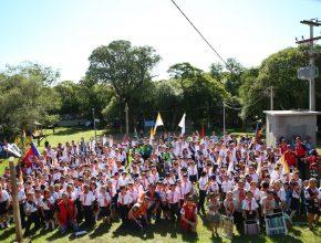 Mais de 200 aventureiros participaram.