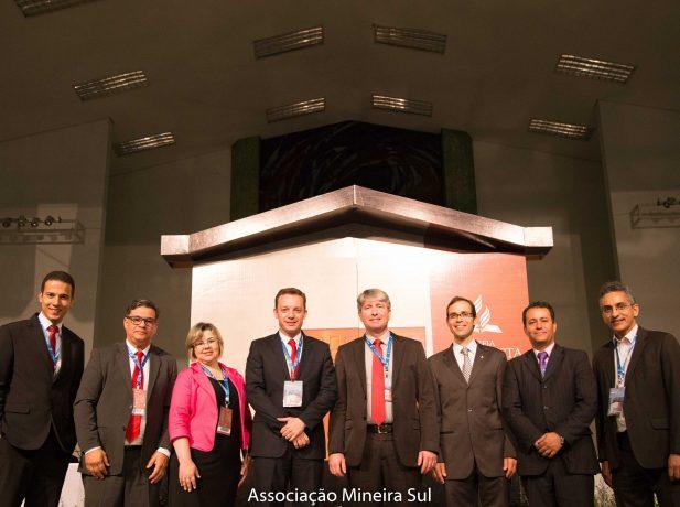 Corpo de líderes nomeados para o próximo quadriênio Foto: Anne Seixas