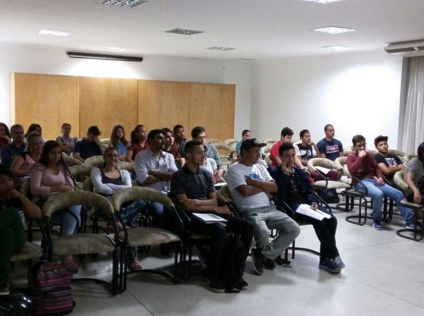 O aulão aconteceu em dois dias e foi ministrado por professores voluntários.