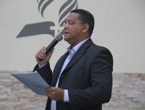 Pr. Junior enfatizou que a Educação Adventista preza pelos ensino qualidade em todos os aspectos