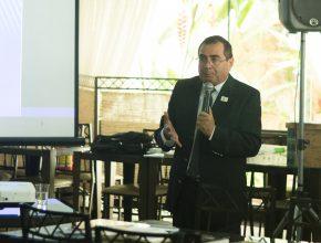 Pastor Ariel Tenório (líder de P.G's para o estado), reforça ideia de que todos podem contribuir com os grupos, usando seus dons e talentos.