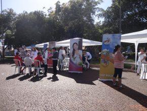 A feira destacou os benefícios de cuidar da saúde. Foto: colaborador local
