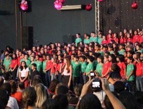 Neste ano, a tradicional Cantata de Natal da Escola Adventista de Palmas arrecadará alimentos destinados a aldeia Xerente, no interior de Tocantins. (foto: arquivo EA de Palmas)