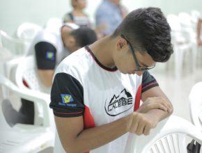 João Marcelo é veterano na Missão Calebe (foto: Márcia Cavalcante)