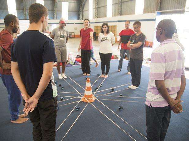 Oficinas do evento trazem aos participantes atividades práticas (Foto: Thiago Bico)