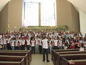 Celebração emocionou os participantes da Missão Calebe.