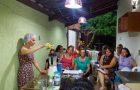 Líder de Saúde abre a casa para ensinar receitas saudáveis