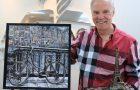 Pintor adventista ganha prêmio internacional no Museu do Louvre