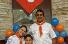 Aventureiros e missionários: crianças levam pais ao batismo