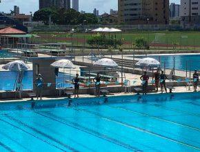 Nadadora adventista ganha medalha de bronze na Paraíba