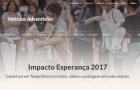 Impacto Esperança tem cobertura em tempo real