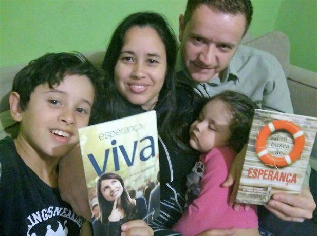 Livros missionários transformam vidas de famílias gaúchas