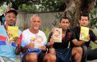 Abraços e sorrisos aquecem corações em abrigo no  Rio