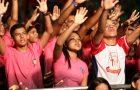 AcampJA leva jovens à consagração e os motiva ao serviço