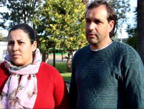 Viviana e Rúben trouxeram o filho todos os dias na Escola Cristã de Férias realizada na cidade de Canelones