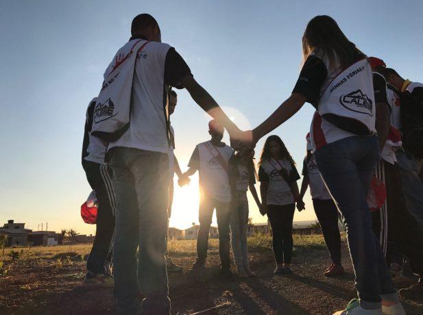 Missão Calebe movimenta férias de jovens do Planalto Central