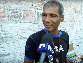 Florisvaldo sente felicidade em ajudar outras pessoas.
