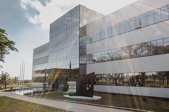 inaugurada nova sede da reitoria e campus virtual do unasp not cias adventistas. Black Bedroom Furniture Sets. Home Design Ideas