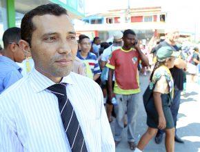 Pastor Oswaldo Gomes, líder local no distrito de São Félix do Tocantins.