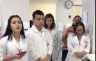 Ação social de alunos de enfermagem viraliza na internet