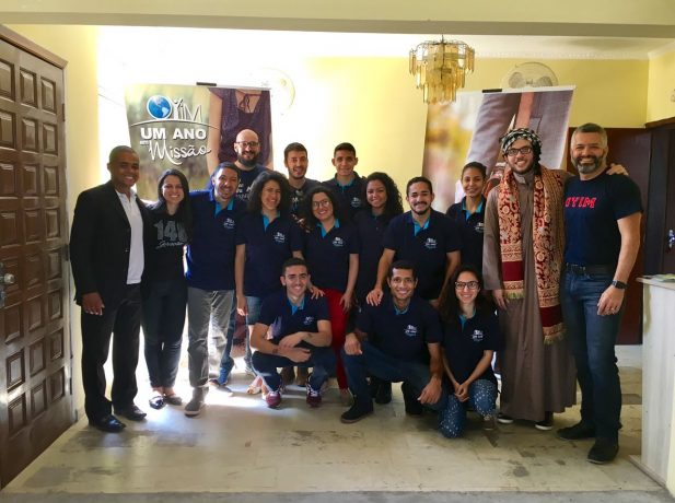 Começa projeto One Year in Mission em Florianópolis