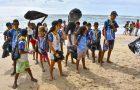 Desbravadores participam de ação ambiental no sul da Bahia