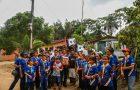 Desbravadores atendem comunidade de Castanhal