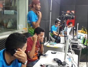 Equipe de produção do Aventuri Online.