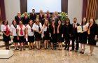 Equipe de recepção de igreja ganha selo de excelência
