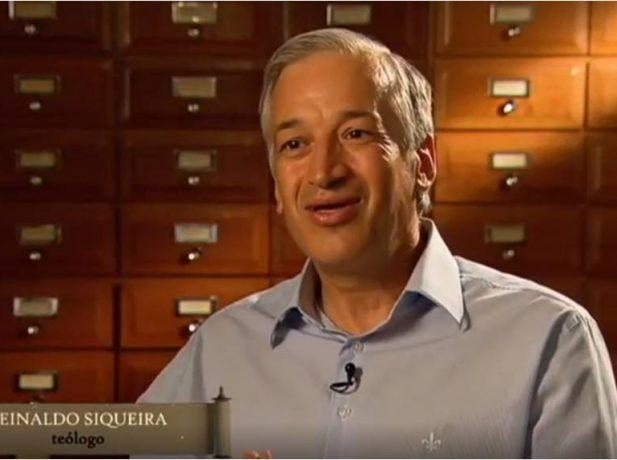 Reinaldo Siqueira é diretor da Faculdade de Teologia do Unasp. (Foto: Reprodução Record TV)
